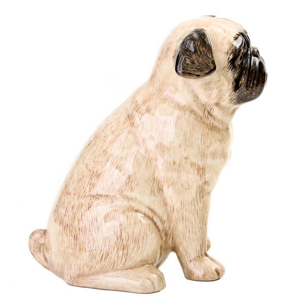 Quail Pug Money Box