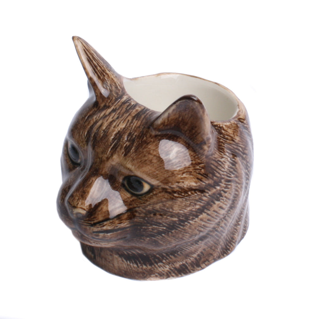 Quail Cat Face Clementine Egg Cup