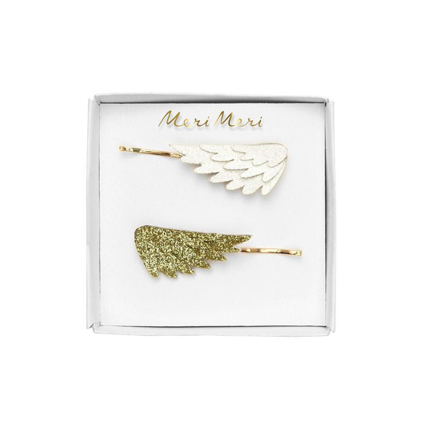 Meri Meri Glitter Wing Hair Slides