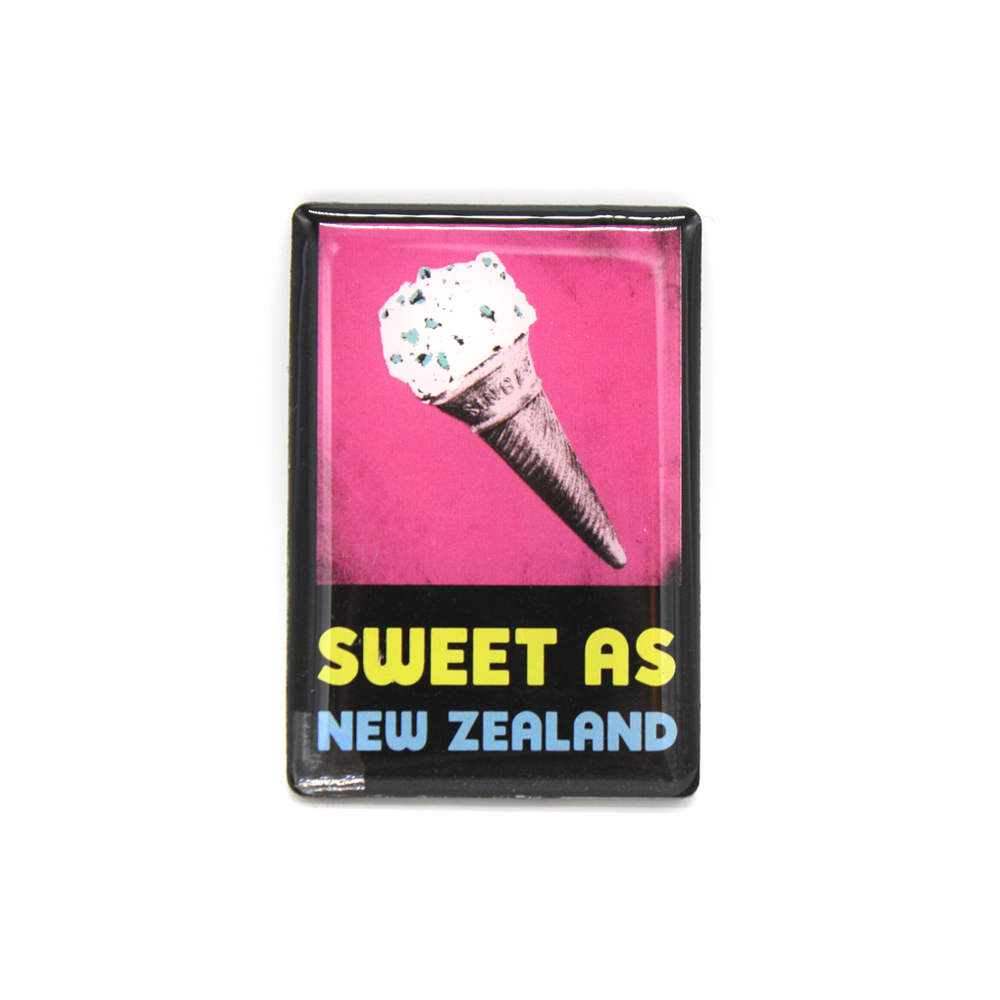 New Zealand Pop Art Magnet Sweet As