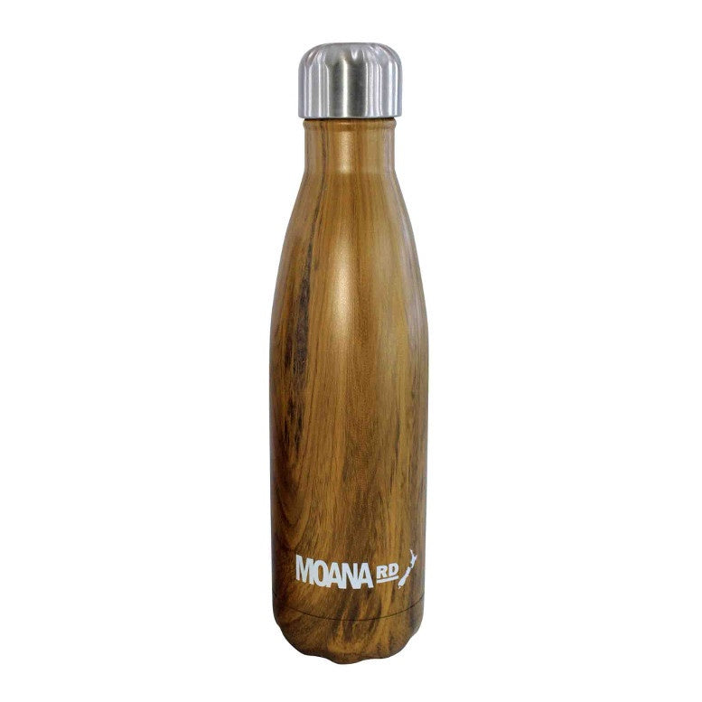 Moana Road Drink Bottle Wood 500ml
