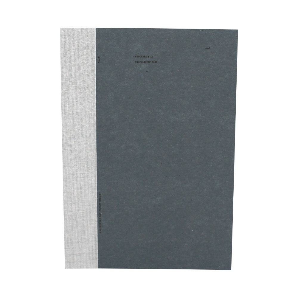 O-Check Design Graphics Utility Notebook Pages Large Blue