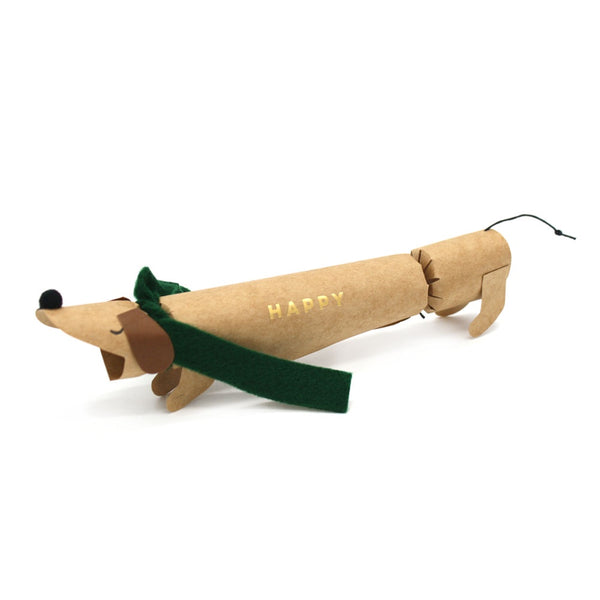 Meri Meri Christmas Cracker Single Sausage Dog
