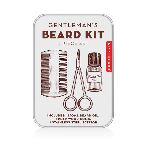 Kikkerland Gentlemans Beard Kit