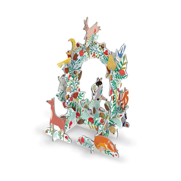 Roger La Borde Pop and Slot Frosty Forest Wreath