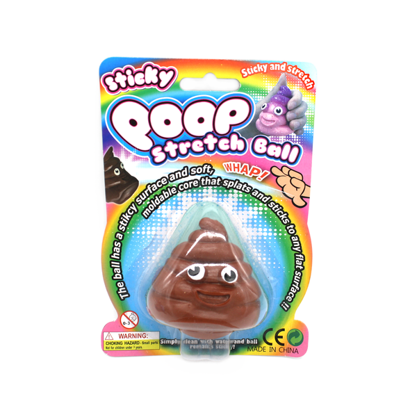 Sticky Poop Stretch Ball