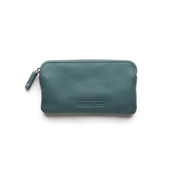 Stitch & Hide Leather Lucy Pouch Teal