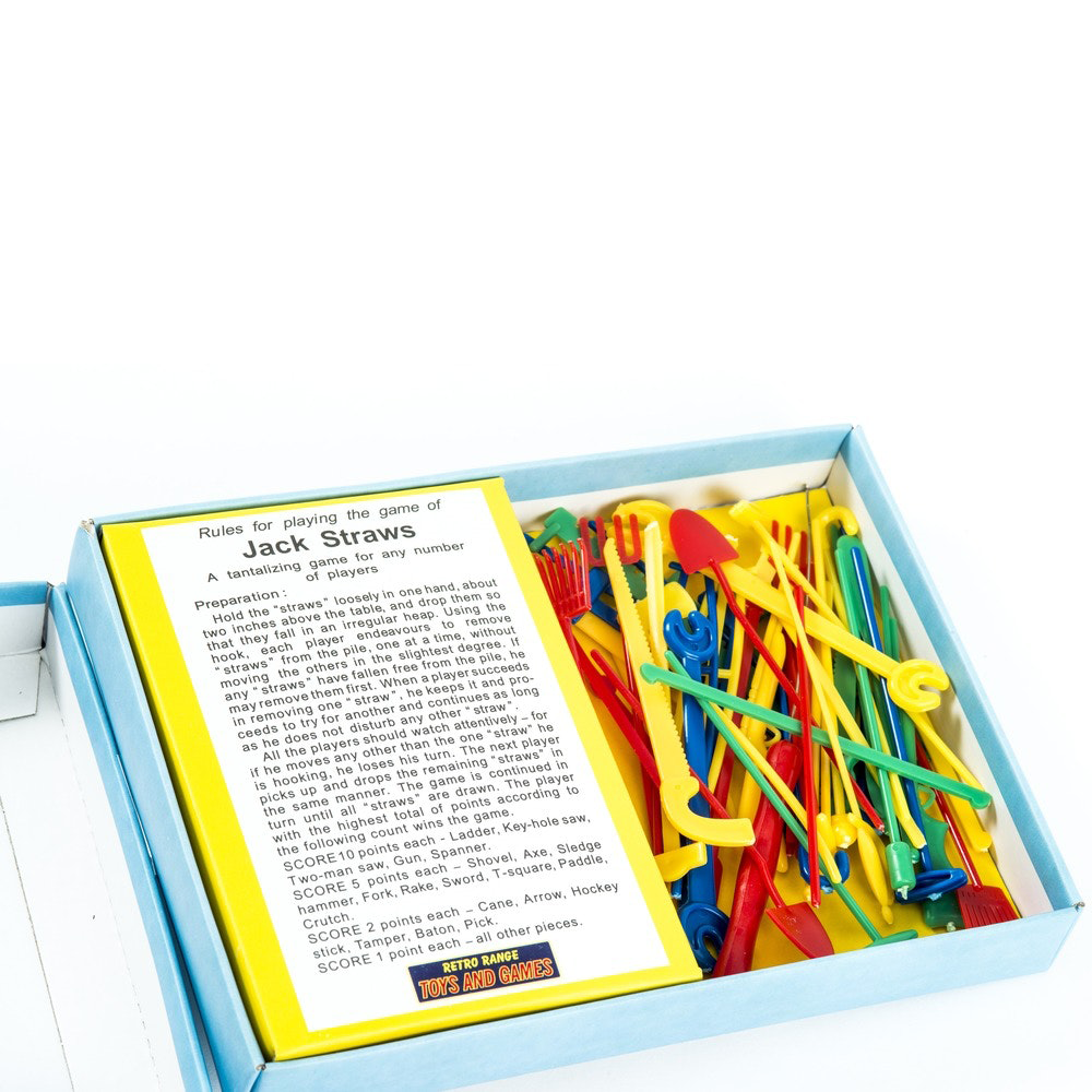 Retro Jack Straws Game