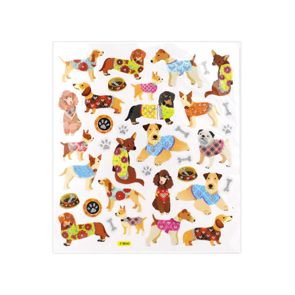 Dressed Up Dogs Stickers