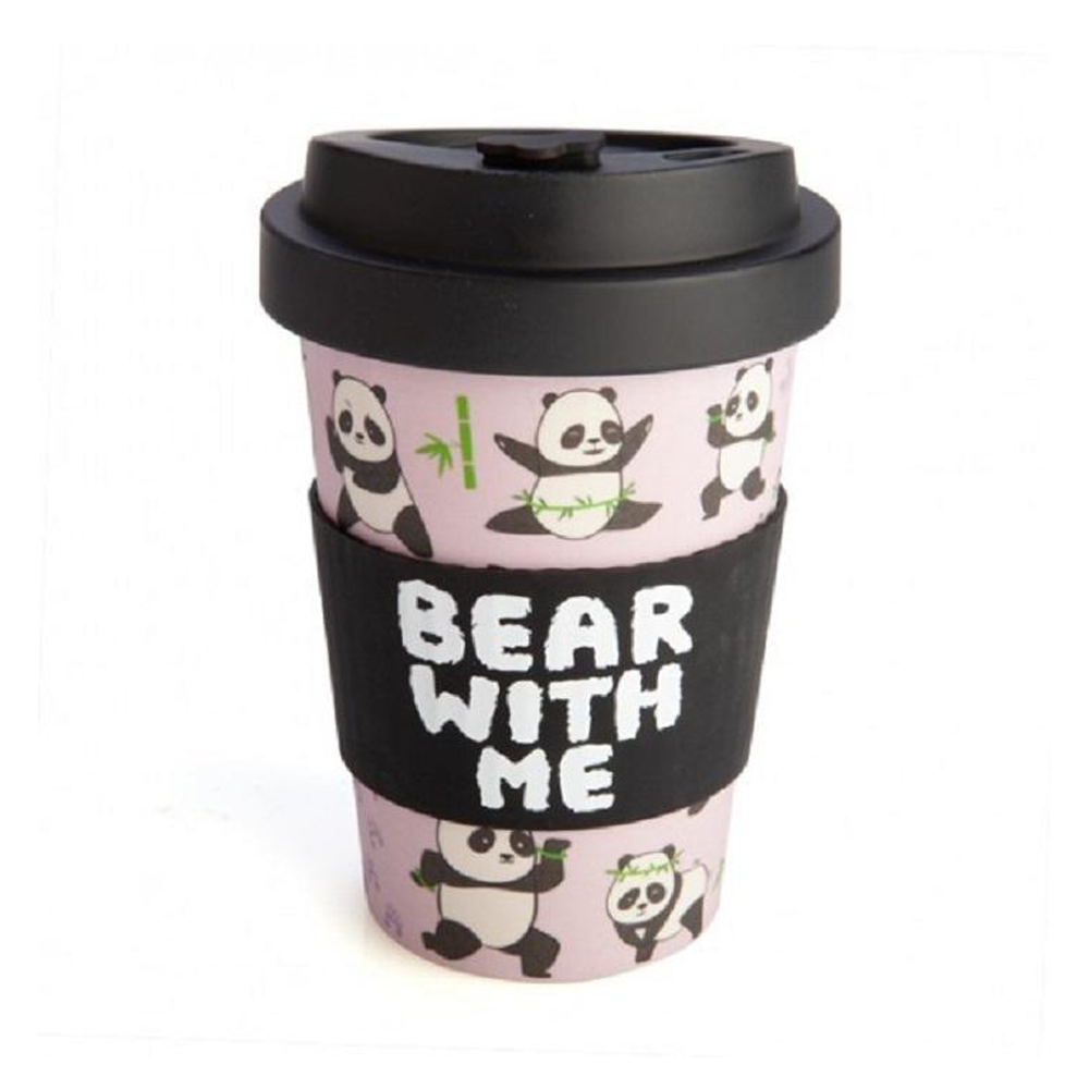 Panda Eco-to-Go Bamboo Cup