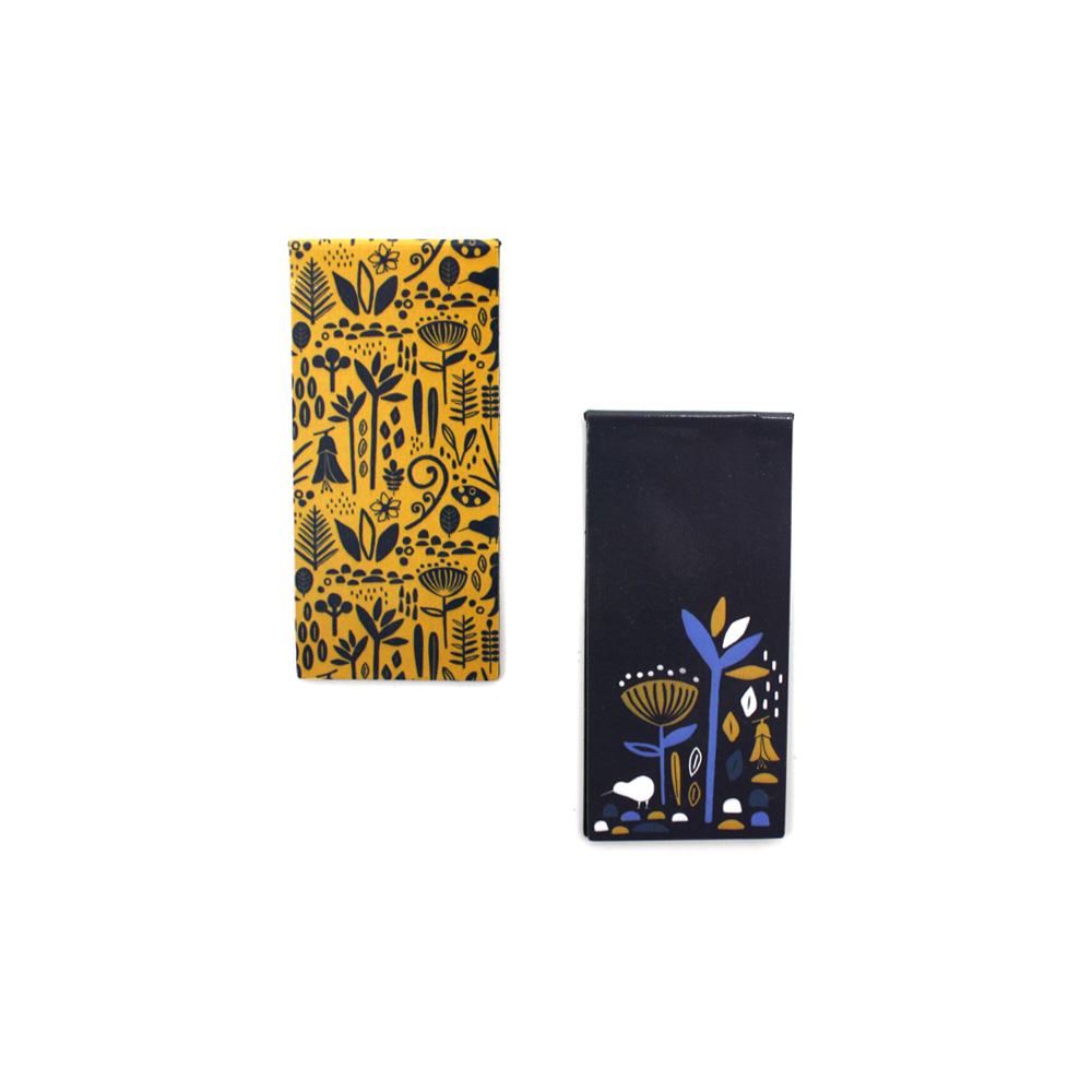 New Zealand Magnetic Bookmark Pack of 2 Flora