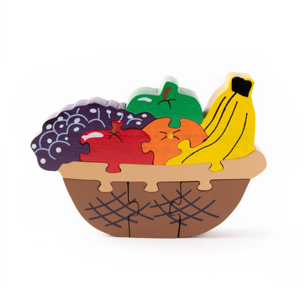 Wooden Fruit Bowl Puzzle