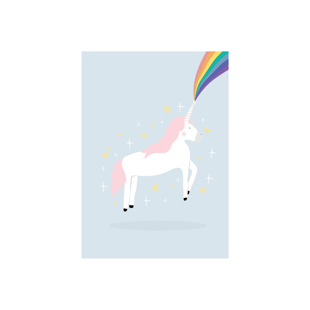 Iko Iko Kids Card Unicorn Magic
