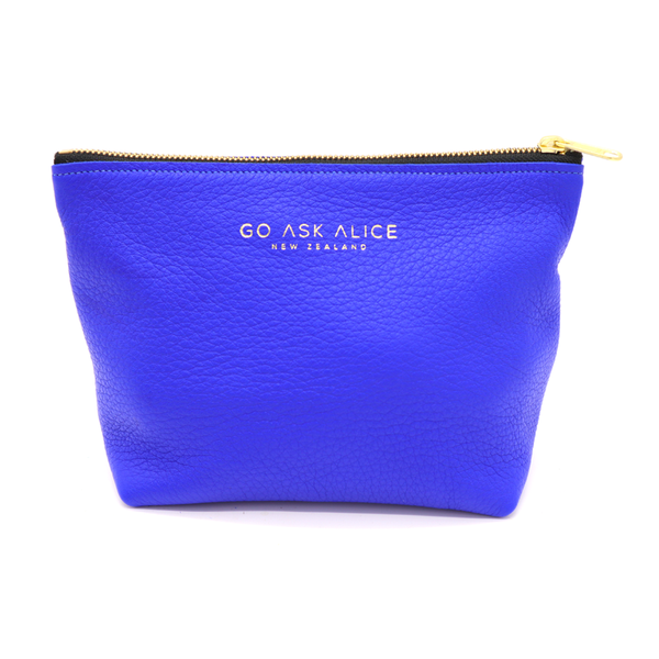 Go Ask Alice Marilyn Pouch Electric Blue