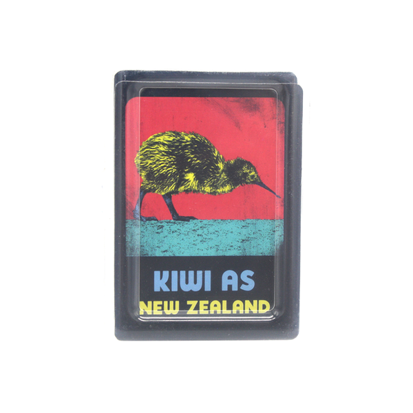 New Zealand Pop Art Playing Cards Kiwi As