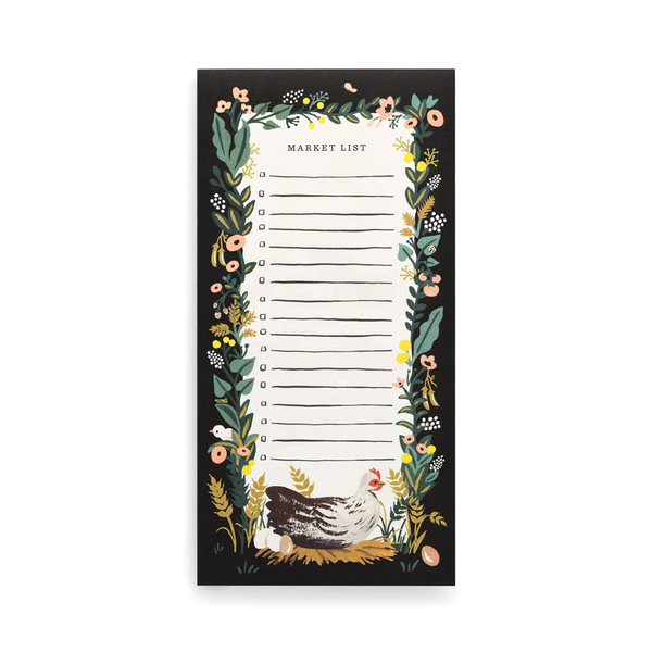 Rifle Paper Co Shopping Pad Country Farm