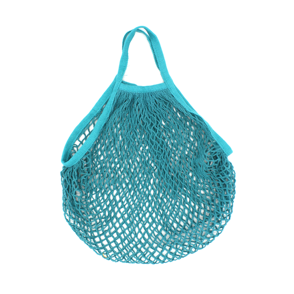 Iko Iko String Cotton Shopping Bag Duck Egg Blue