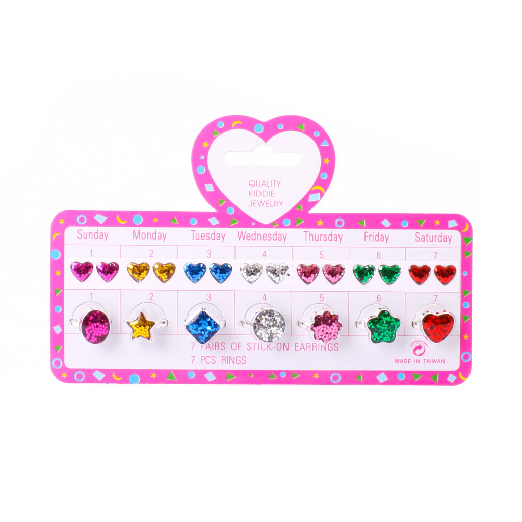 Kiddy Jewellery 7 Day set Shapes