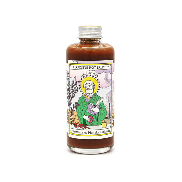Apostle Hot Sauce St Matthew Chocolate & Manuka Chipotle