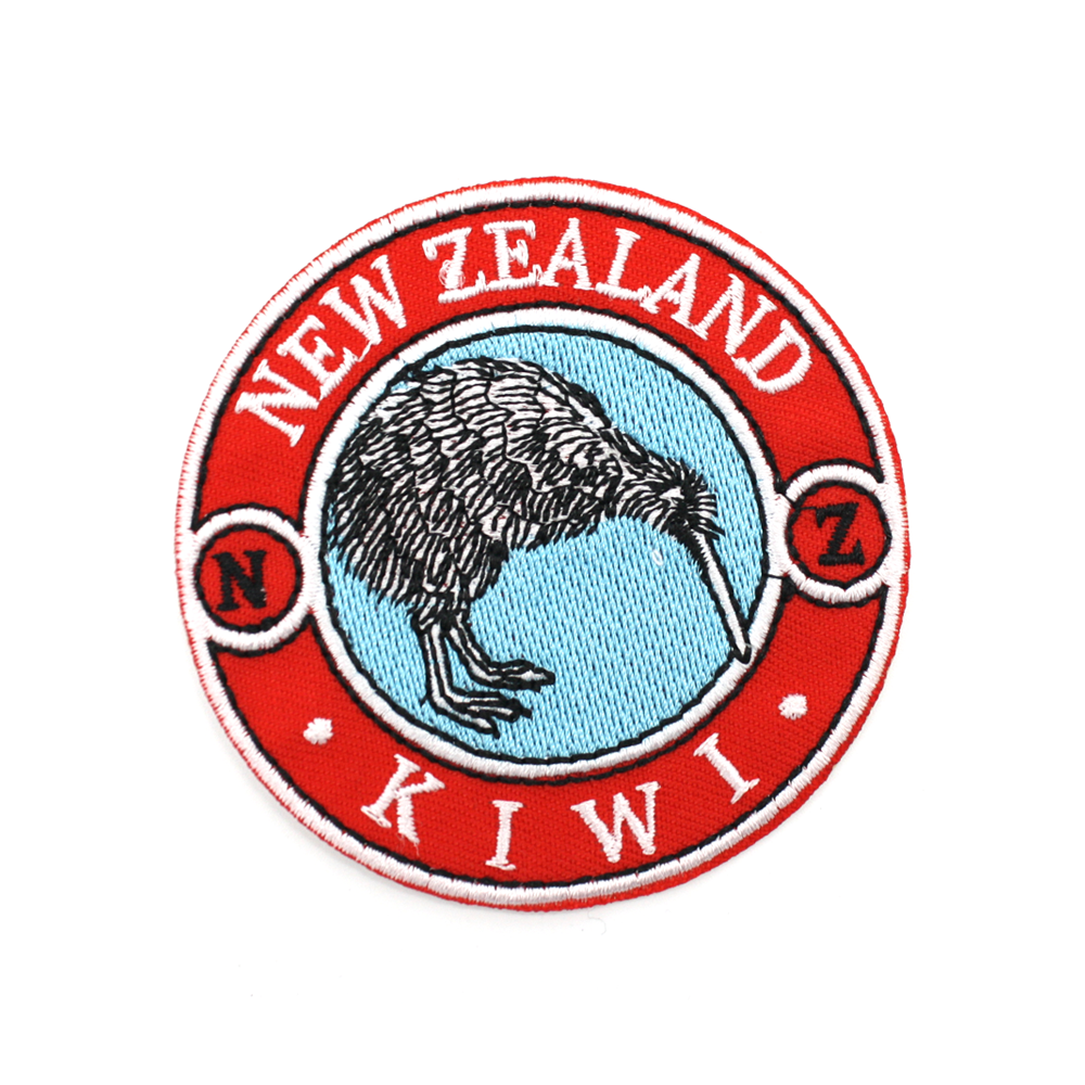 New Zealand Iron on Patch Brand Mark Kiwi