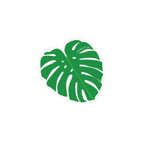 Iko Iko Fun Size Sticker Monstera Leaf