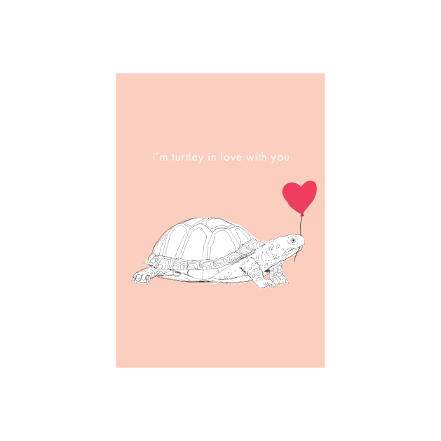 Iko Iko Animal Pun Card Turtle