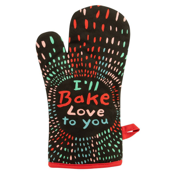 Blue Q Oven Mitt I Bake Love To You