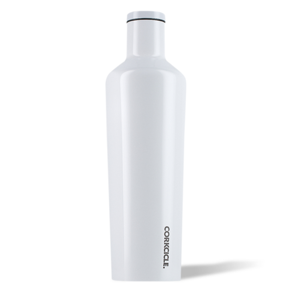Corkcicle Canteen Drink Bottle 25oz Dipped White