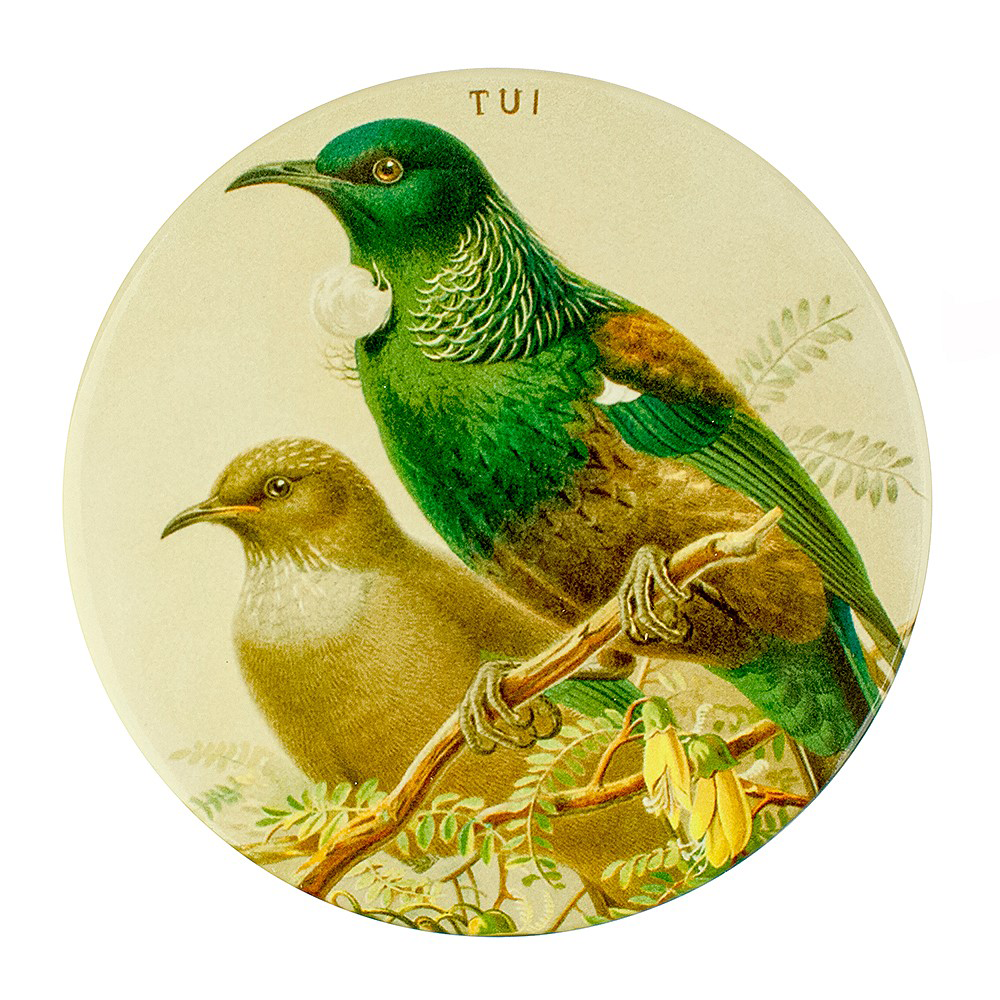 Ceramic Coaster Tui