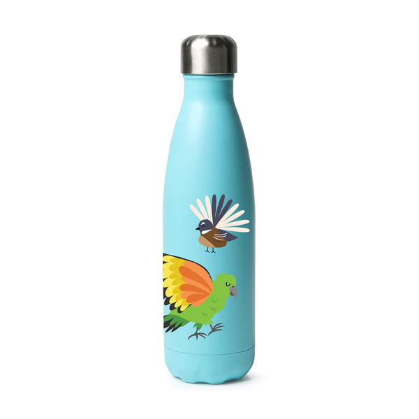 Moana Road Drink Bottle Native Birds 500ml