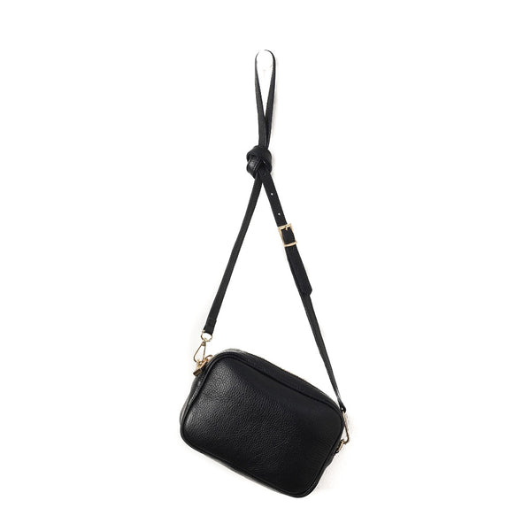 Citta Dixon Leather Handbag Black
