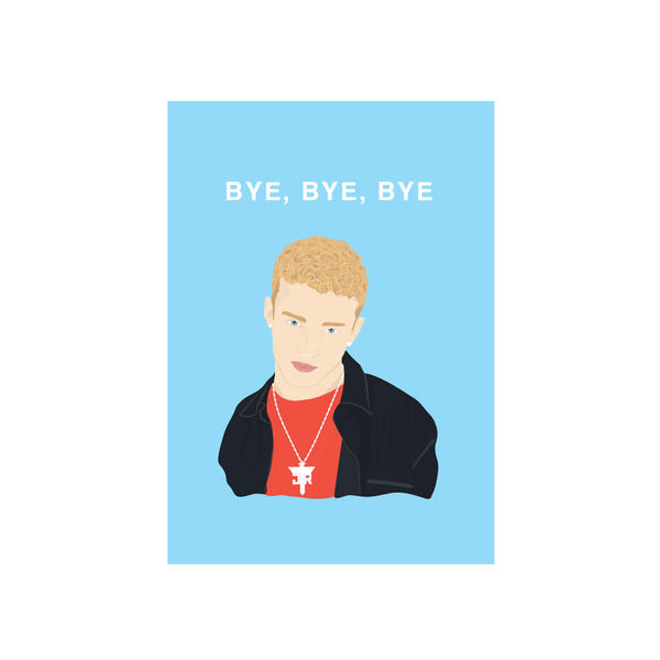Iko Iko Pop Culture Card Bye Bye Bye
