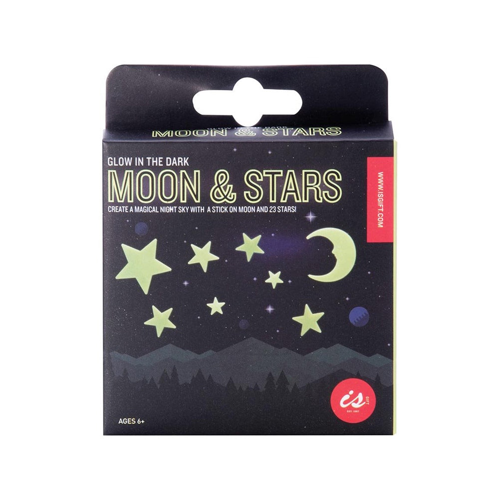 Glow in the Dark Moon and Stars Stickers