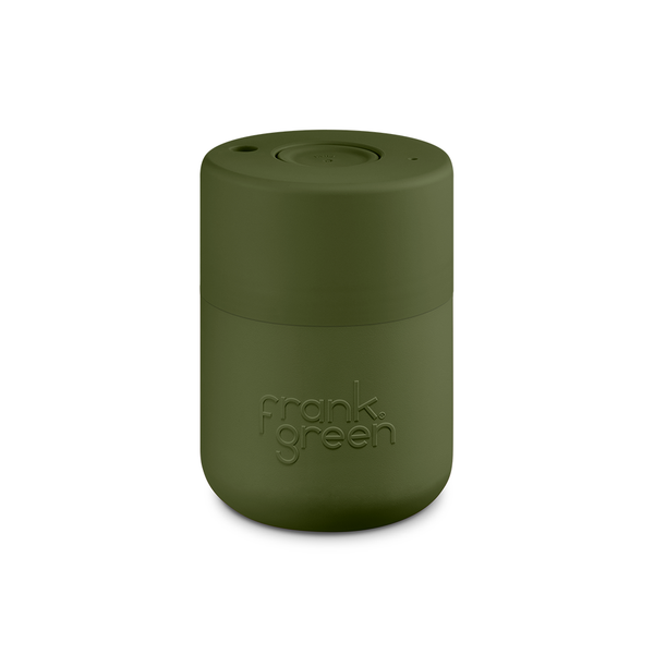 Frank Green Original Reusable Smart Cup 8oz Khaki