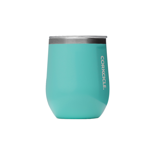 Corkcicle Canteen Stemless 12oz 355ml Turquoise