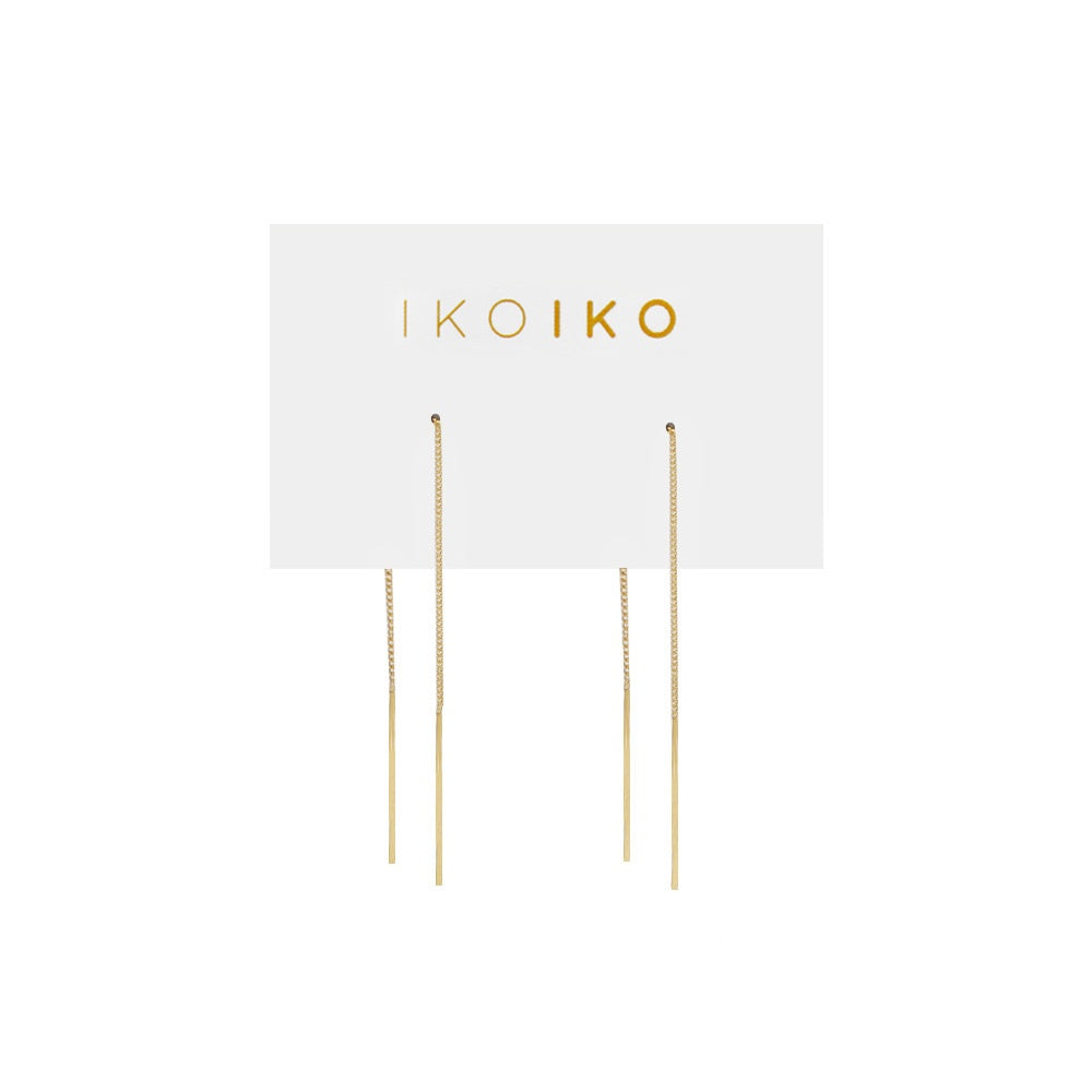 Iko Iko Earrings Thread Small