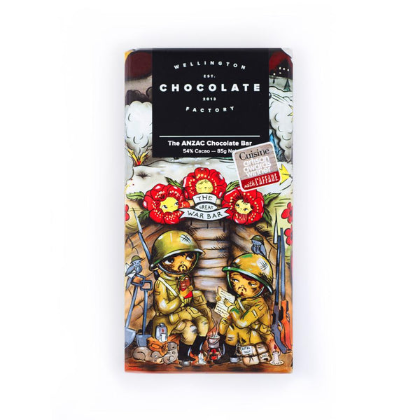 Wellington Chocolate Factory The ANZAC Bar 75g