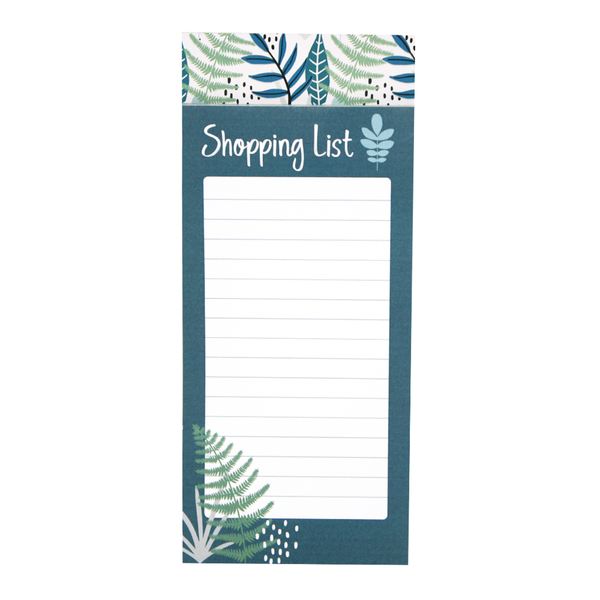 Magnetic Shopping List Fern