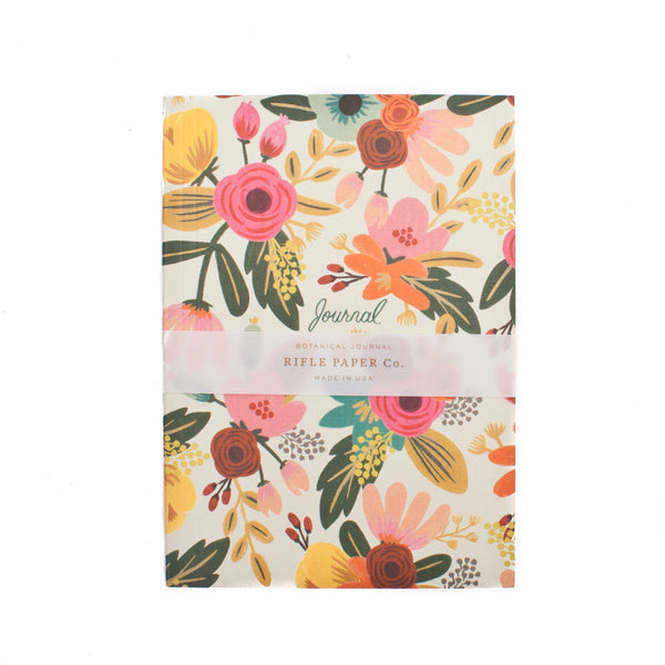 Rifle Paper Co Botanical Journal Mint Floral