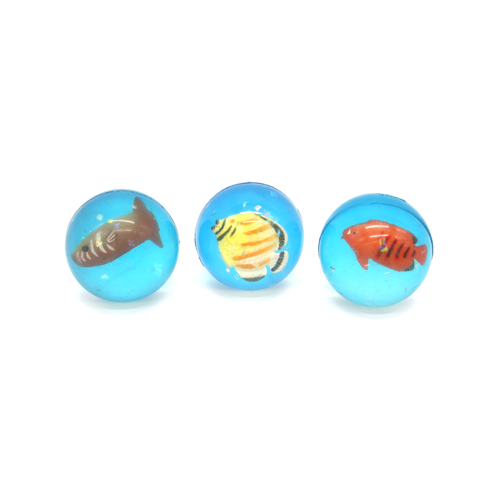 Tropical Fish Bouncy Ball Assorted