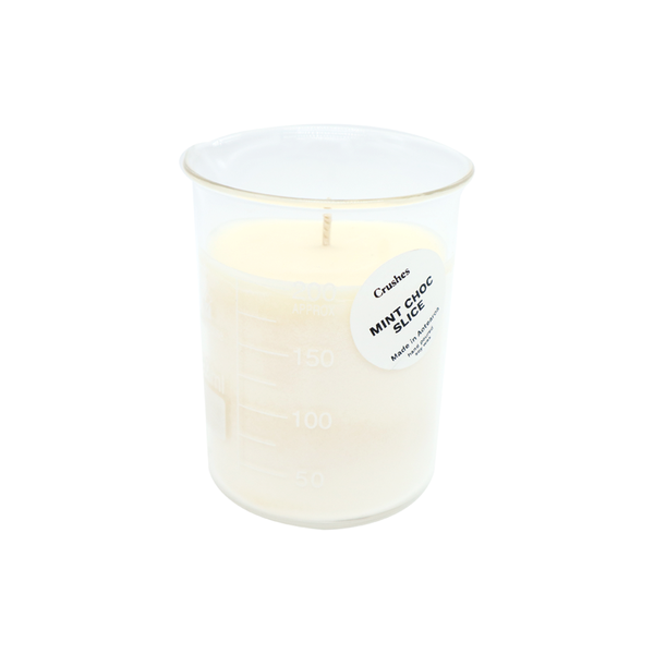 Crushes Mint Choc Slice Beaker Candle