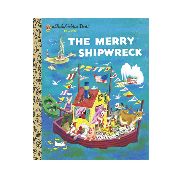 Little Golden Book The Merry Shipwreck