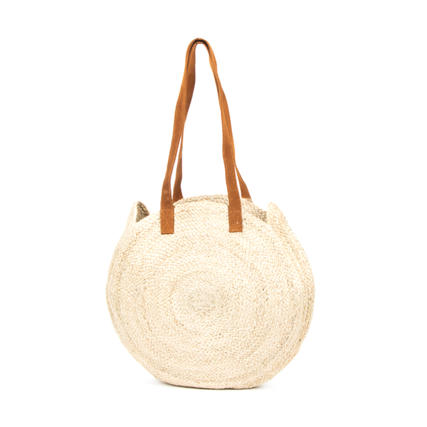Circular Day Bag Natural
