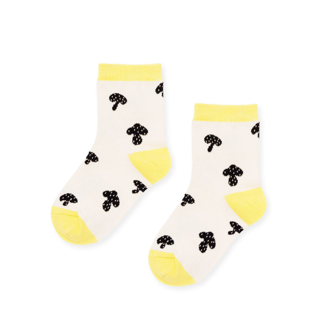 Hansel From Basil Kids Socks Mushroom Crew