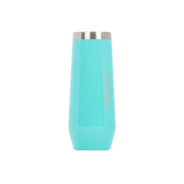 Corkcicle Canteen Flute 7oz Turquoise