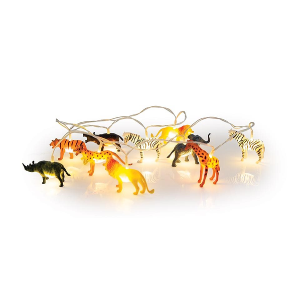 Illuminate String Lights Wild Animals