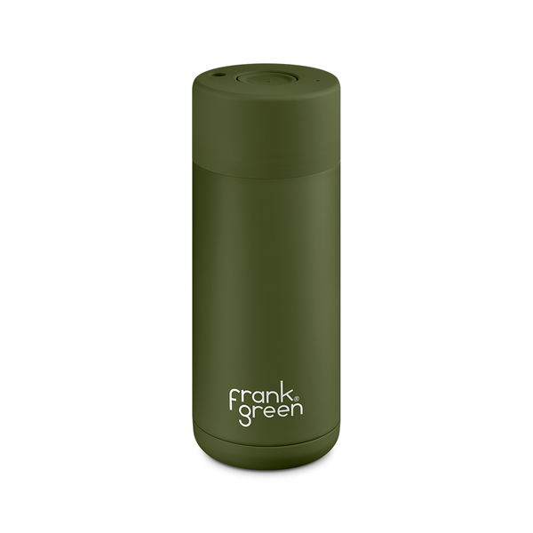 Frank Green Ceramic Smart Cup 16oz Khaki