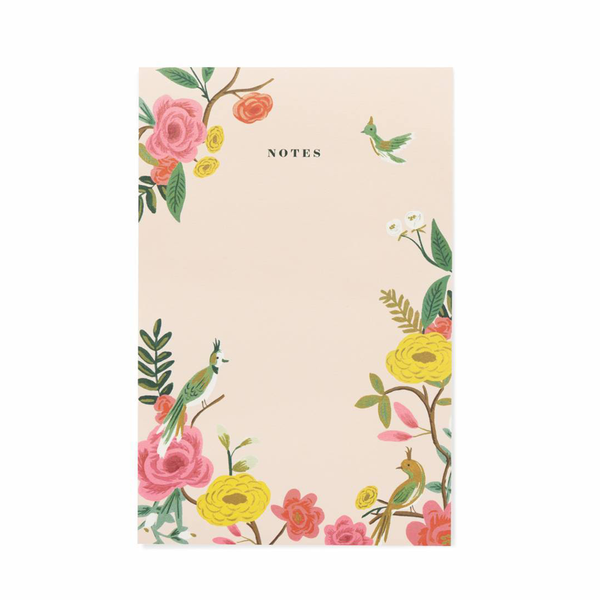 Rifle Paper Co Notepad Shanghai Garden