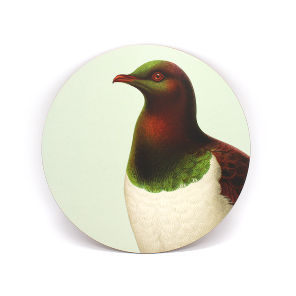 100% NZ Cork Backed Placemat Kereru