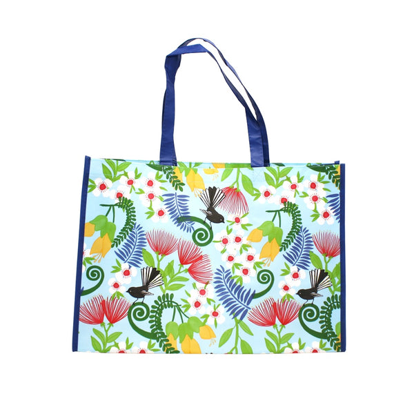 New Zealand Laminated Shopping Bag Kiwiana